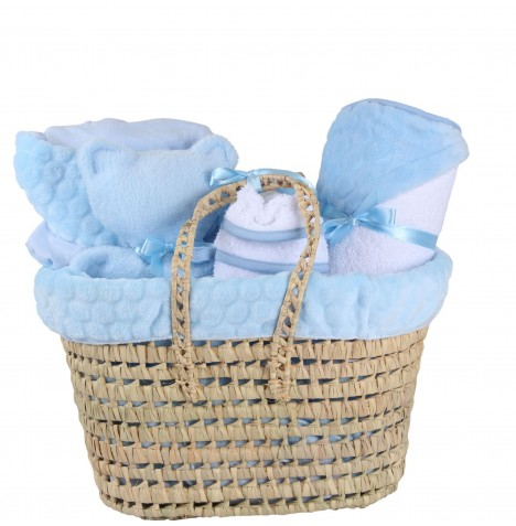 Clair De Lune Polly Marshmallow Gift Set - Blue